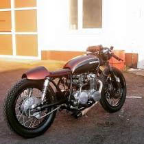 Honda CB500 Four by Fate Motorcycles