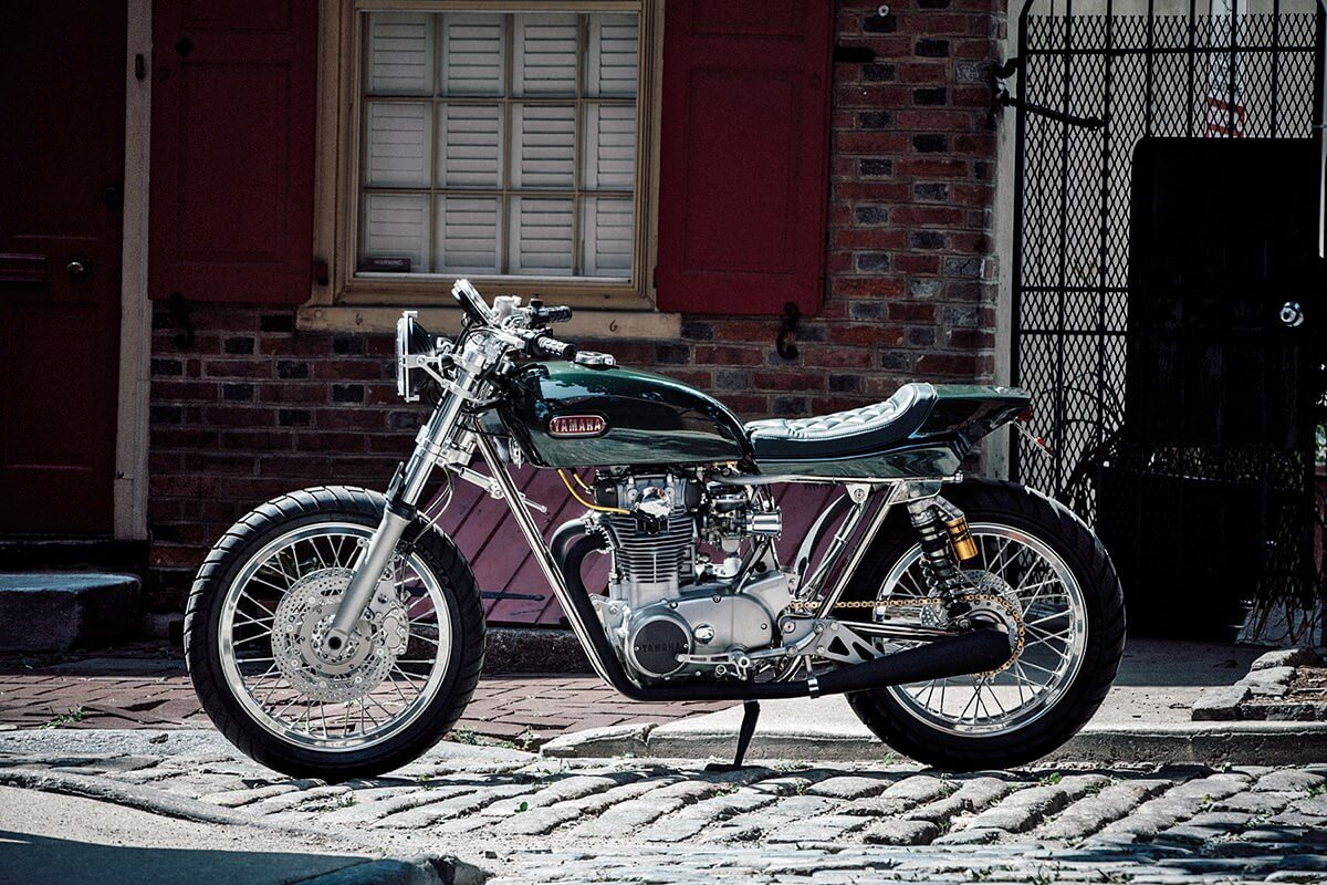 Yamaha XS650 by Bill Becker