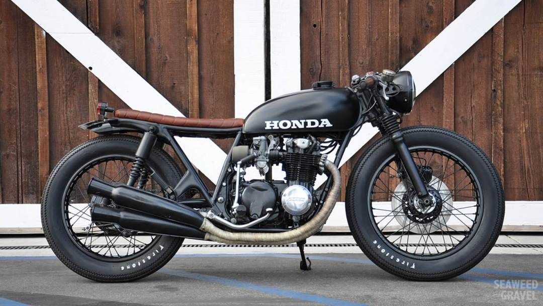 Honda CB550 by Seaweed and Gravel