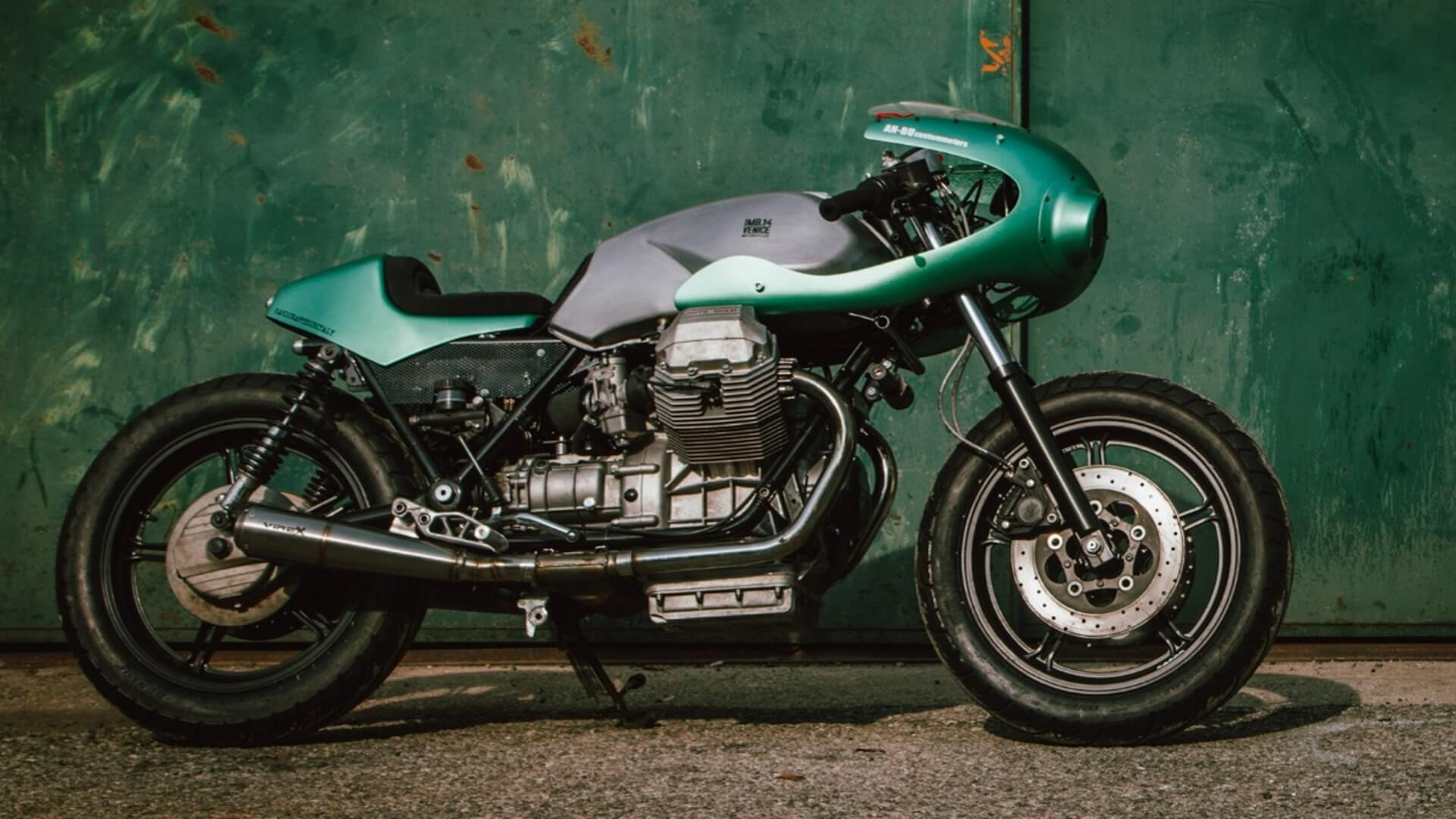 Moto Guzzi SP3 Imbarcadero 14 & An-Bu Custom Motors