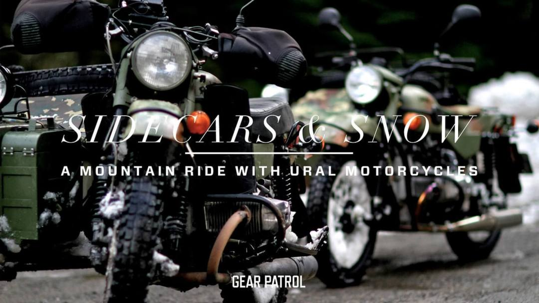 Sidecars & Snow A Mountain Ride with Ural Motorcycles