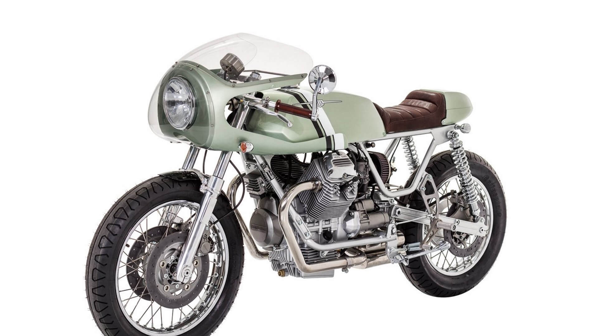 Moto Guzzi Nevada par Rua Machines