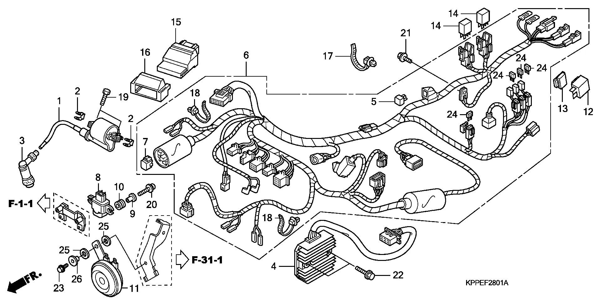 Regulador Honda Cbr R 125