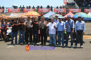 Ceremonial-Dihadiri Petinggi Daytona, Perwakilan Muspida Kab Subang, Promotor dan Pengprov IMI Jabar