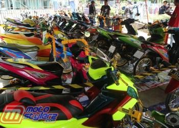 Motocontez By HMM Universitas Nusa Putra-Event Wajibnya Modifstylerz Sukabumi