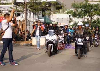 Honda Genio Movie Ride-Diiikuti 100 Bikers & Konsumen Honda