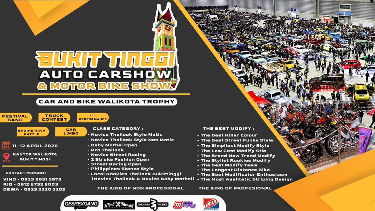 2020 April 11-12 Bukit Tinggi Auto Carshow & Motor Bike Show 2020