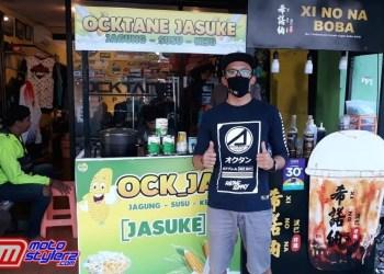 Arie Ocktane-Perkenalkan Bisnis Kuliner Baru Jasuke & Xi No Na Boba
