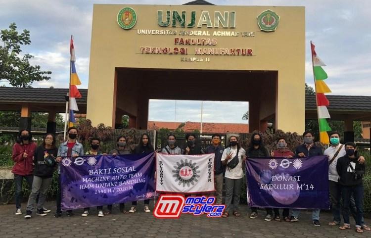 HMM Unjani Bandung-Gelar Baksos Machine Auto Team
