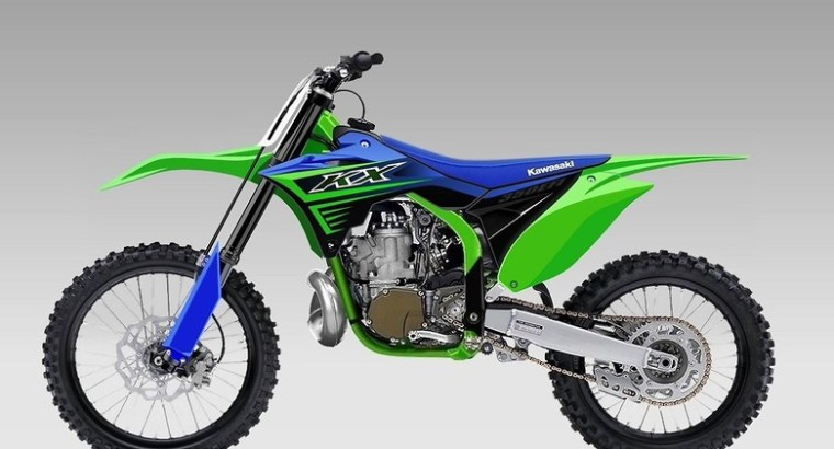 Kawasaki KX 350 2-Tempos? Isto é real!?!