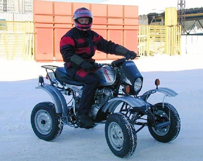 квадроцикл из скутера