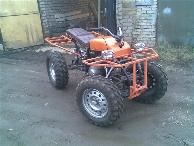квадроцикл из «Урала»