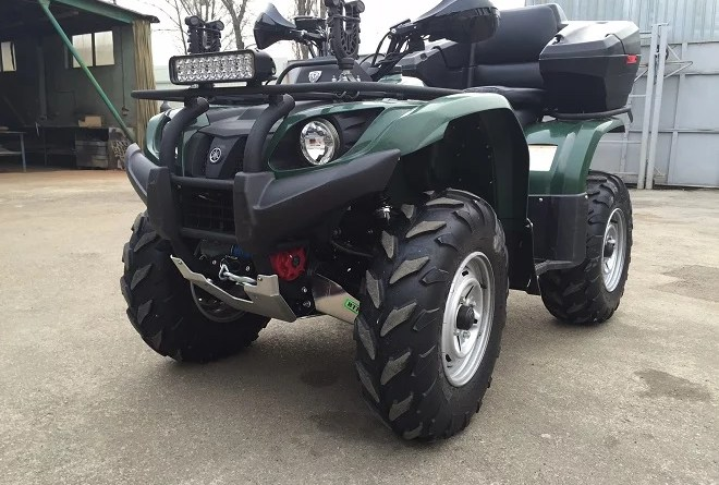 квадроцикл Yamaha Grizzly 450