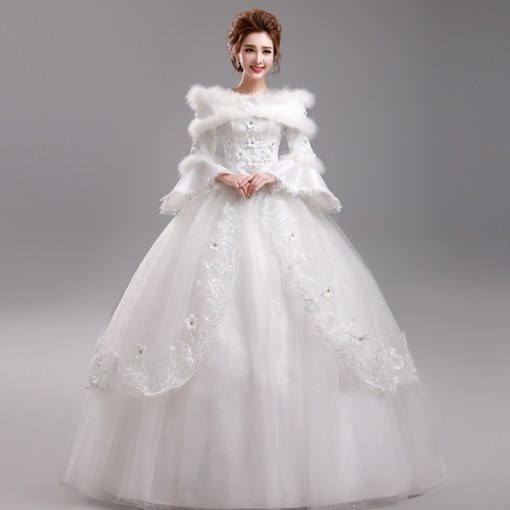 Dresses with sleeves     Bridal Dresses Style Switcher