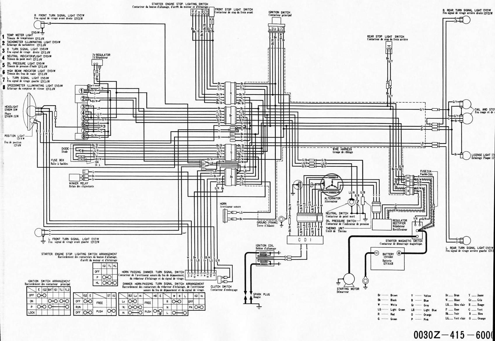 Cx500 Wiring Diagram
