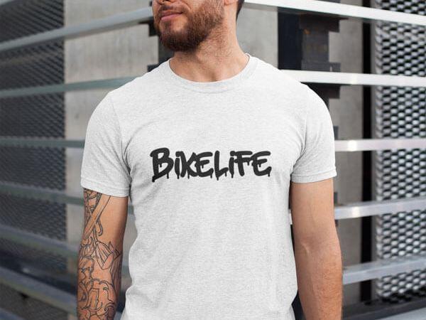 Bikelife T-Shirt für Männer von MotoWear Germany