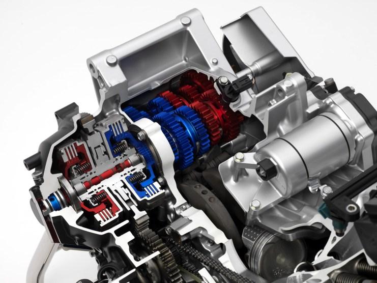 2014 Honda CTX700_700N Cutaway DCT