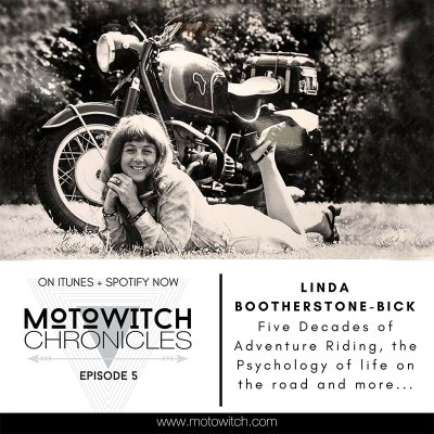LINDA BOOTHERSTONE-BICK 5 Decades of Adventure Riding