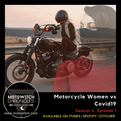 Motorcycle Women vs Covid19