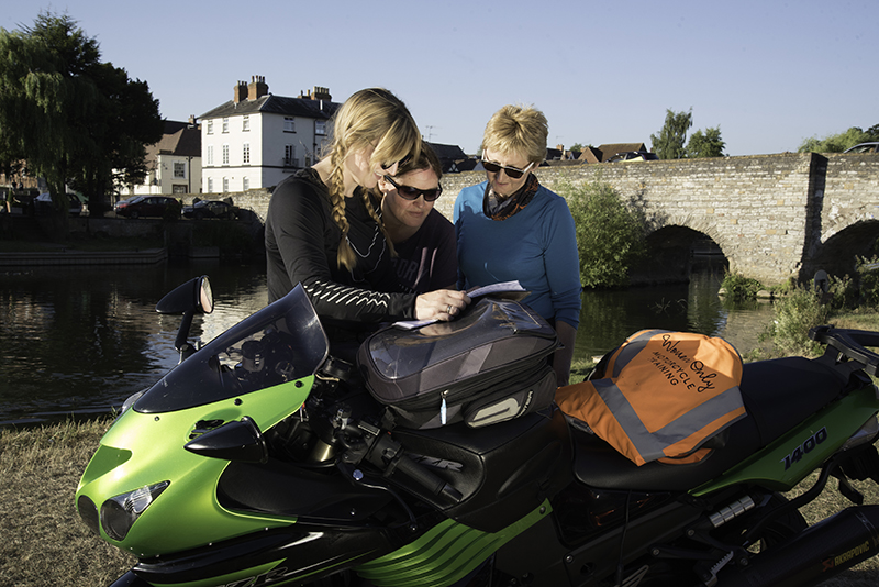 How to get a motorcycle license UK Women Only Motorcycle Training