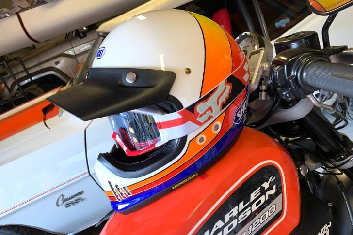 FOX RACINGのメイン ゴーグル サヤク Hideki Okamotoさんから提供してもらいました