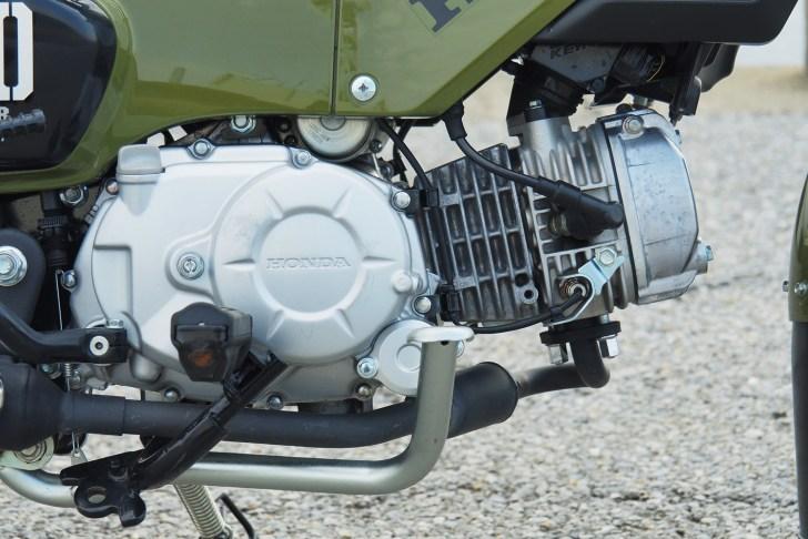 クロスカブ110のエンジンはスーパーカブ110と共通