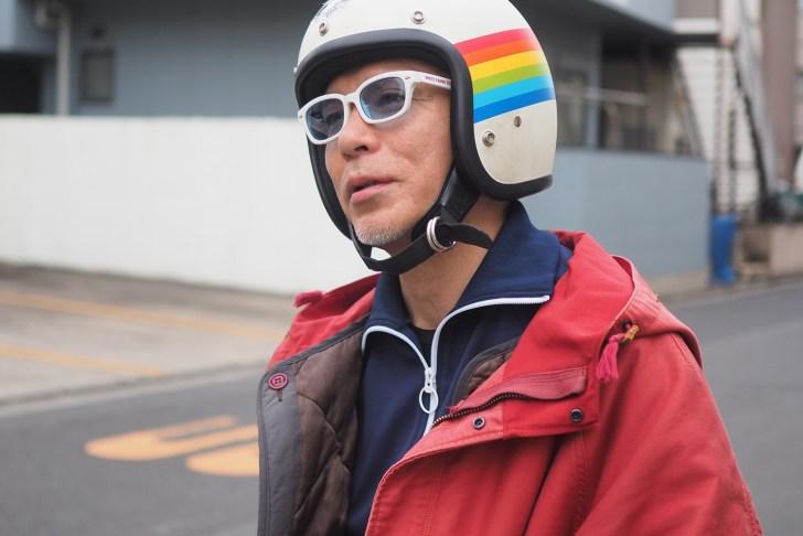 坂下さんももちろんバイク乗り!愛車はBMWだそう。ただ現在修理中とのこと。