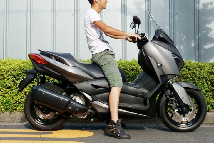 XMAX 172cm 足つき両足