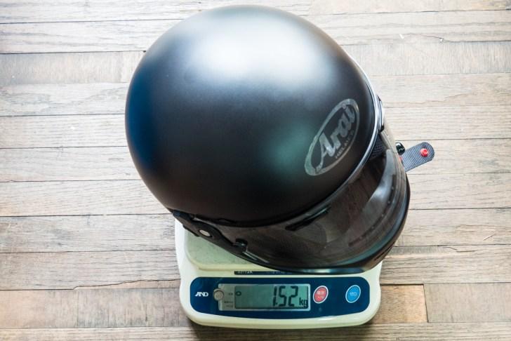 つや消し黒のRAPIDE-NEOは1.52kgでした
