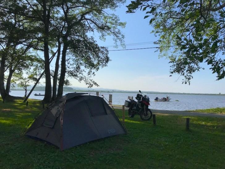女満別湖畔キャンプ場