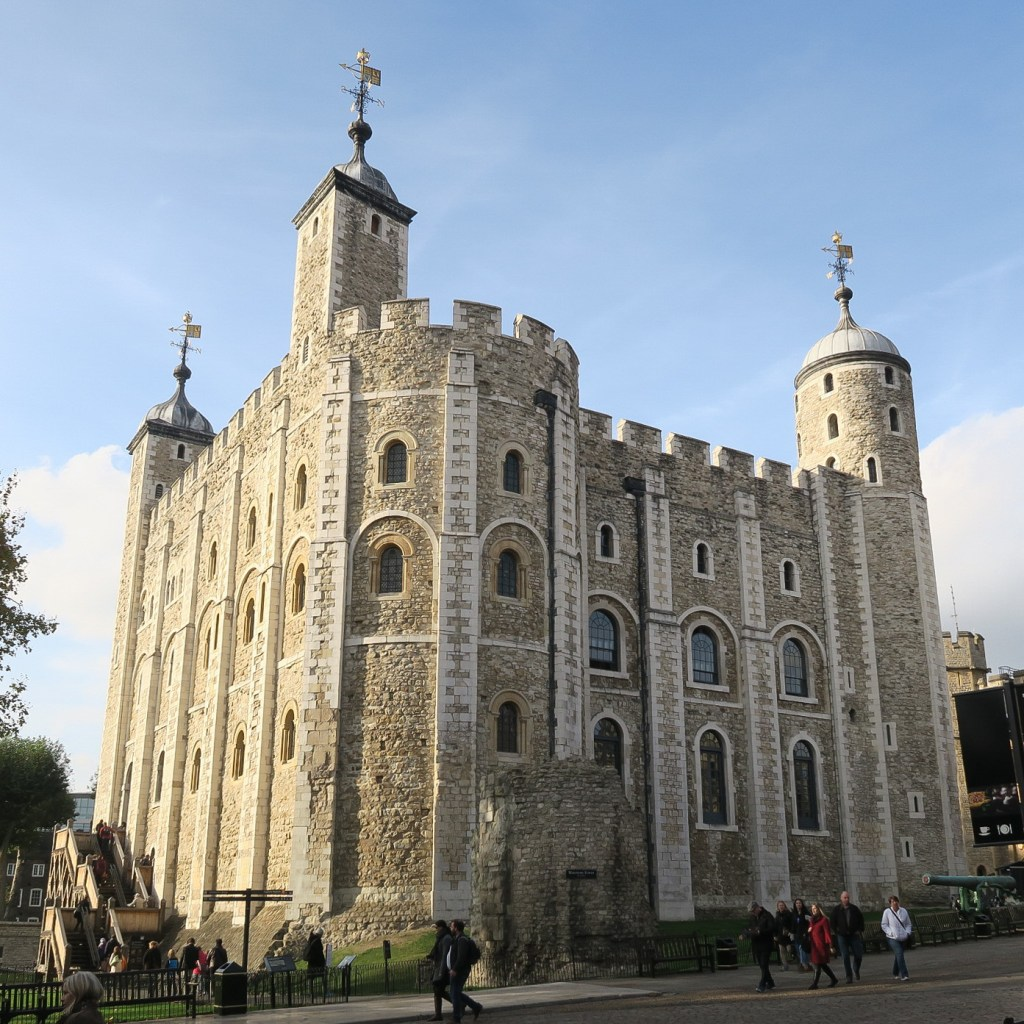 The White Tower, the heart of the Tower of London