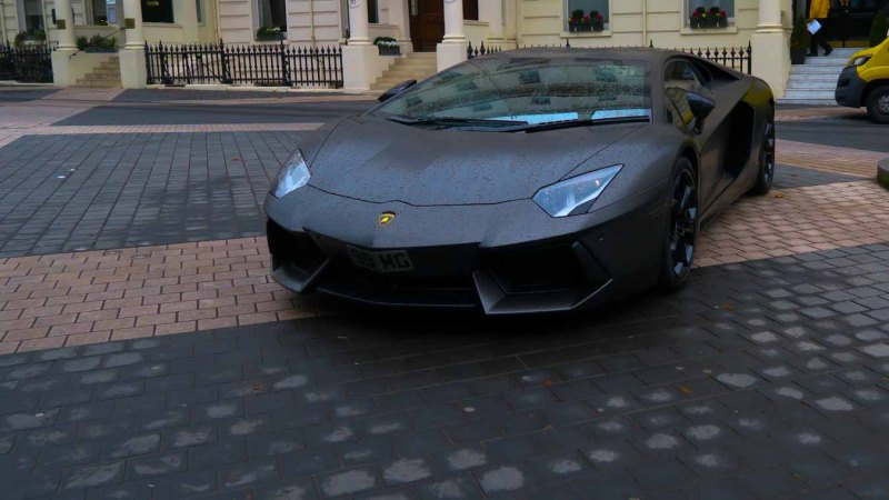 Is this the Batmobile? Does Bruce Wayne live in South Kensington?
