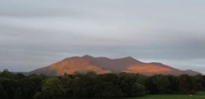 Sun on the mountain in Killarney, County Kerry, Ireland   Jill Browne