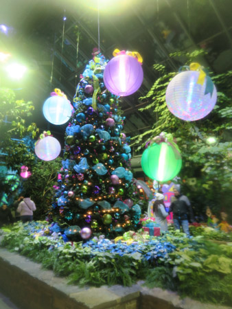 Christmas tree at the Calgary Zoo | Jill Browne