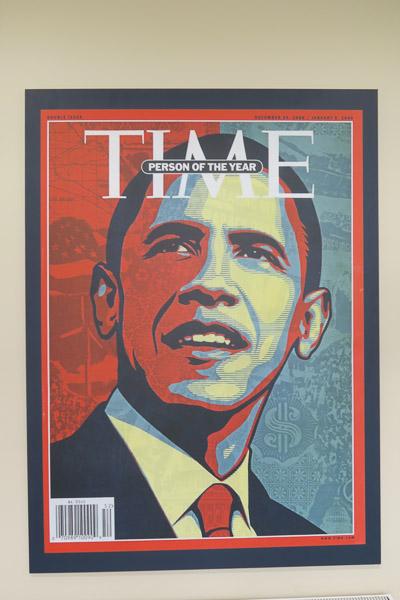 Barack Obama on Time magazine | Jill Browne