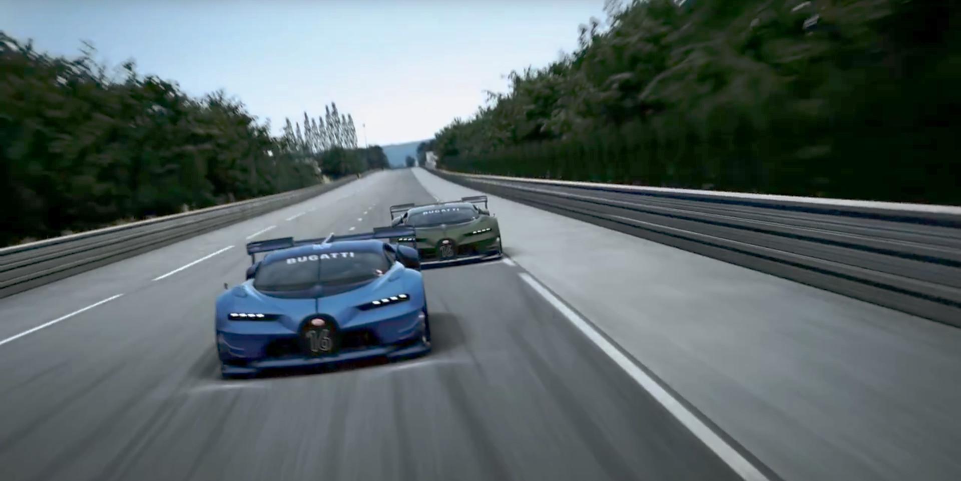 Designing The Bugatti Vision GT Video Motrolix