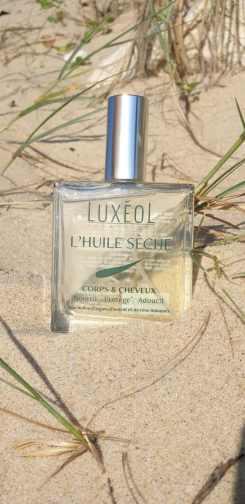 luxéol à la plage