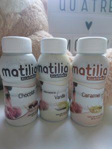 boissons d'allaitement de Matilia