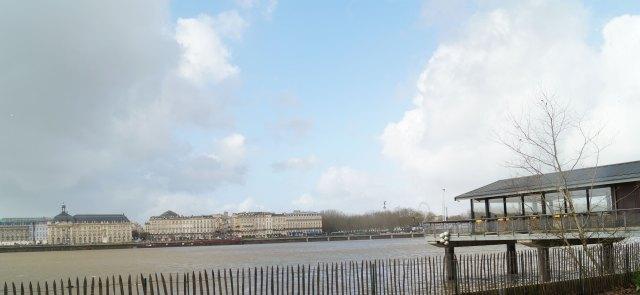 l'estacade à Bordeaux