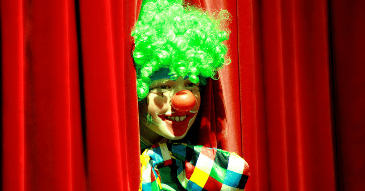 Clown Mottoparty