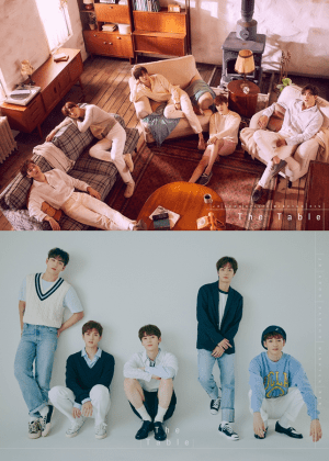 NU'EST waits for new album #new story #ofje pie