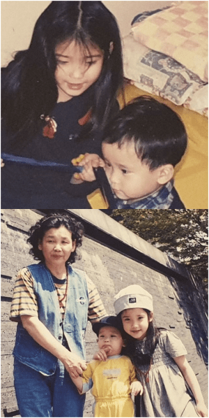 IU childhood pictures unveiled 'exceptional beauty from cotyledon'