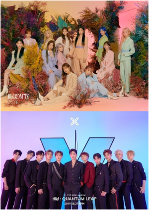 """IZ*ONE and X1 '2019 MAMA' Mnet """"In discussion"""""""