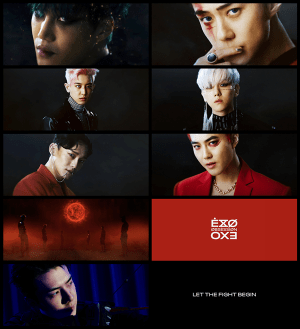 Countdown of EXO's comeback has kicked in