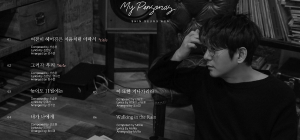 Shin Seung-hun releases the tracklist of his 30th-anniversary special album 'My Personas'