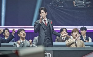 'Phantom Singer All-Star Match' wins a big match between the pole and the pole unit