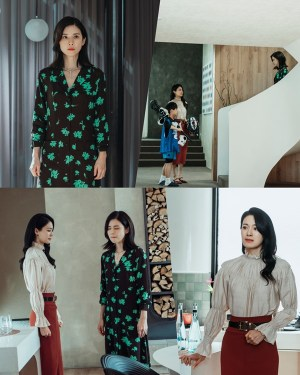 'Mine' Lee Bo-young and Ok Ja-yeon conflicted each other in front of son