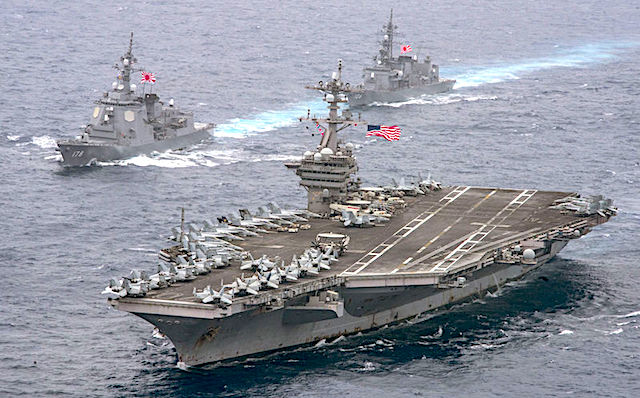Admiral Harry Harris: U.S.S. Carl Vinson Now in Striking Distance