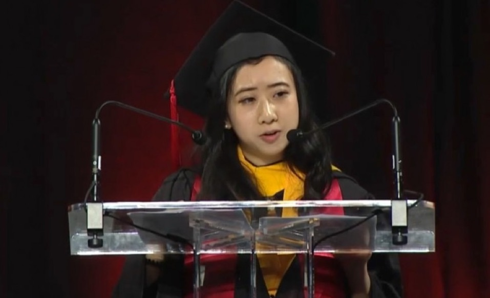 [VIDEO] Chinese Student Who Praised U.S. Fresh Air and Freedom Apologizes After Backlash in China