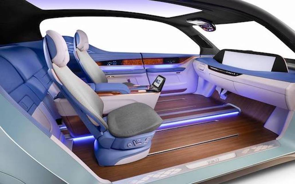[VIDEO] Why Your Next Car May Look Like a Living Room